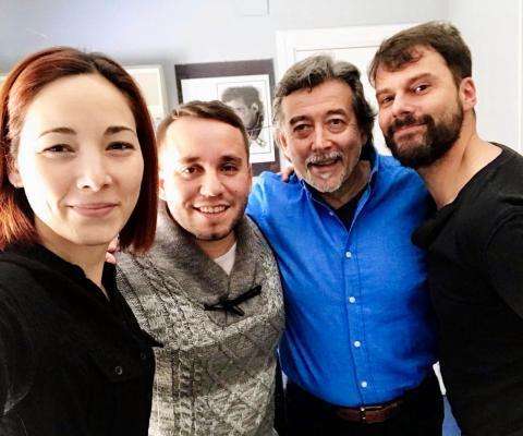 con DANI ZUERAS y el equipo PAUL MUSIC – 2018